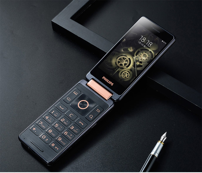 Android раскладушка PHILIPS S351F дебютировала в Китае